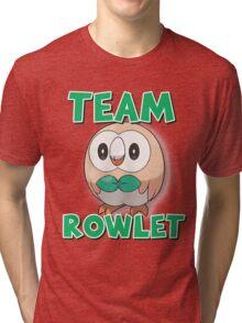 Team Rowlet ! Tri-blend T-Shirt