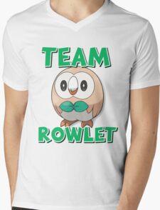 Team Rowlet ! Mens V-Neck T-Shirt