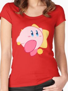Kirby Women's Fitted Scoop T-Shirt