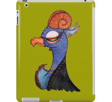 a portrait of buckbeak iPad Case/Skin