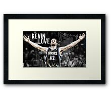Tall Three Point Shooter Framed Print