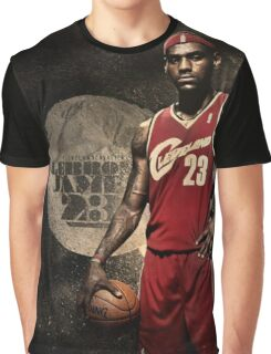 Young Lebron Graphic T-Shirt