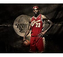 Young Lebron Photographic Print