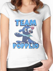 Team Popplio ! Women's Fitted Scoop T-Shirt
