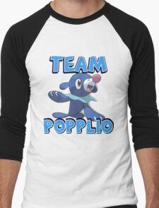 Team Popplio ! Men's Baseball ¾ T-Shirt