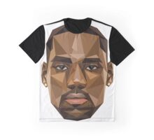 Lebron Troll Face Graphic T-Shirt