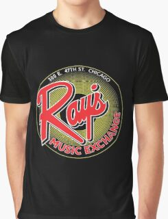 Ray's Music Exchange - Red Variant Graphic T-Shirt