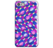 Crazy Circles on Squares iPhone Case/Skin