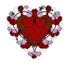 Rose Heart by Kryshalis