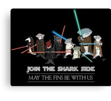 Star Wars Sharks Canvas Print