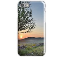 Cornwall: Sunset over Roughtor iPhone Case/Skin