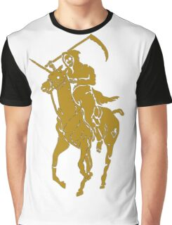yellow grim reaper polo Graphic T-Shirt
