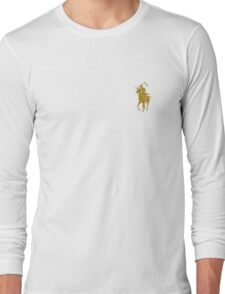 yellow grim reaper polo Long Sleeve T-Shirt