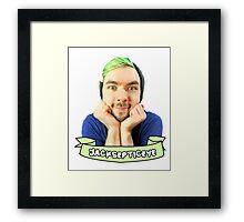 jacksepticeye! Framed Print
