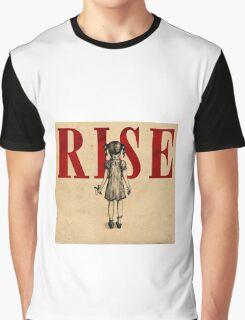 Skillet Rise Album Cover Graphic T-Shirt