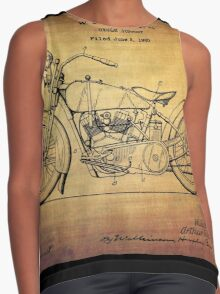 Harley Davidson Patent From 1928 Contrast Tank