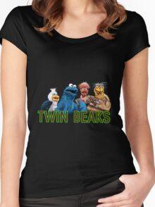 Twin Beaks Women's Fitted Scoop T-Shirt