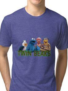Twin Beaks Tri-blend T-Shirt