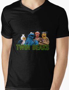 Twin Beaks Mens V-Neck T-Shirt