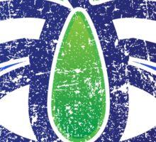 Koga - Ibaraki - Prefecture of Japan - Distressed Sticker
