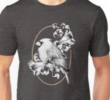 Bird and Curls Unisex T-Shirt