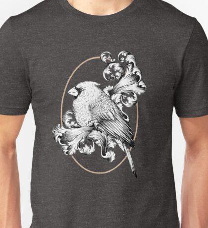 Bird and Curls Unisex T-Shirt