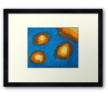 Cloudfire Framed Print
