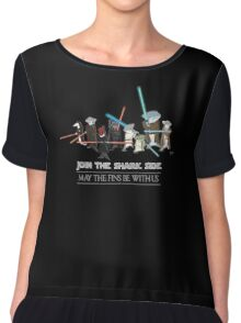 Star Wars Sharks Chiffon Top