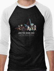 Star Wars Sharks Men's Baseball ¾ T-Shirt