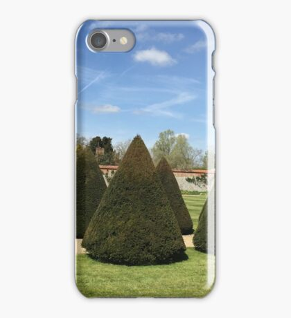 Topiary at Littlecote House iPhone Case/Skin