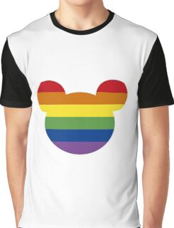 Mickgay Mouse Graphic T-Shirt