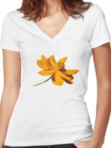 Cosmos Women's Fitted V-Neck T-Shirt
