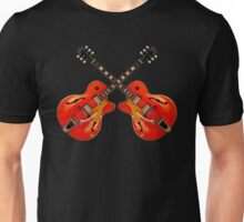 Wonderful Red Electric Guitars Unisex T-Shirt