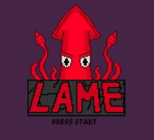 LAME Squid Pixel Art Unisex T-Shirt