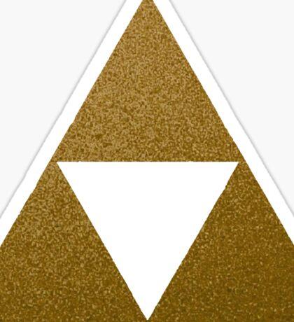 Legend of Zelda Gold Triforce Sticker