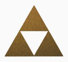 Legend of Zelda Gold Triforce Kids Tee
