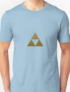 Legend of Zelda Gold Triforce Unisex T-Shirt