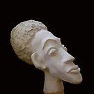 Head of an African Man by Lidiya