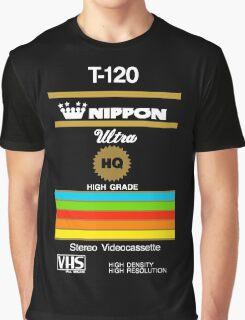 Retro VHS tape vaporwave aesthetic Graphic T-Shirt