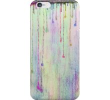 Rainbow Drops in vibrant ink iPhone Case/Skin
