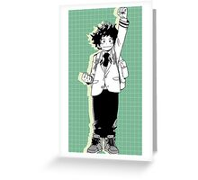 Boku no Hero Academia Greeting Card
