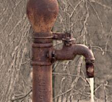 Antique Water Pump Sticker