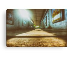 Footbridge (Low Angle) Canvas Print