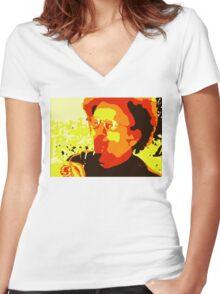 Dr. Steve Brule For Your Wine Women's Fitted V-Neck T-Shirt