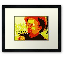 Dr. Steve Brule For Your Wine Framed Print