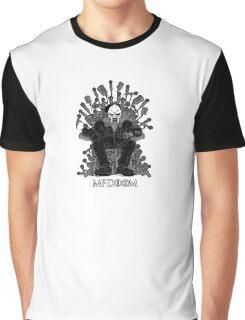 MF DOOM GAME OF THRONES PARODY Graphic T-Shirt