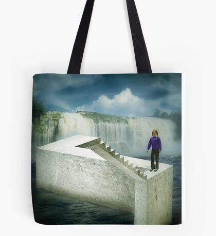 Unstairs Tote Bag