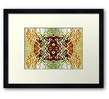 Graffiti Abstract Framed Print