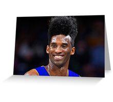Afro Kobe Greeting Card