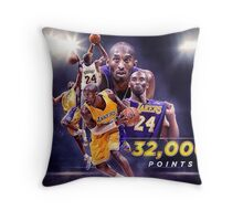 Second Most Points In History Throw Pillow